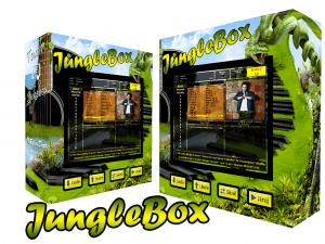 nástenný dotykový jukebox - Jungle Box