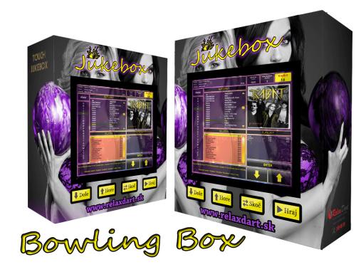 dotykový jukebox - Bowling
