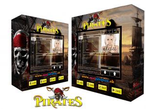 nástenný dotykový jukebox - Pirát