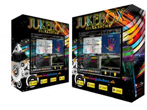 nástenný dotykový jukebox - Space Music