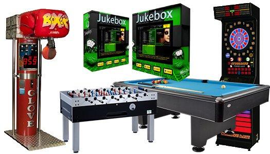 Jukebox - Zábavné automaty na prenájom