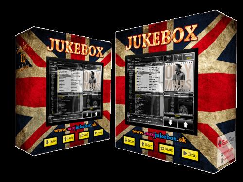 nástenný jukebox - dotykový s potlačou