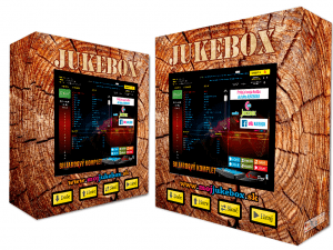 Drevený jukebox
