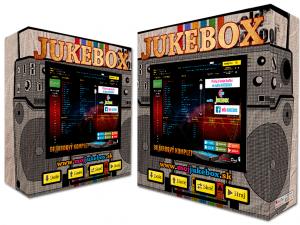 Retro rádio jukebox